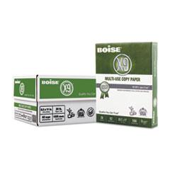 Boise® X-9 Multi-Use Copy Paper, 92 Bright, 20lb, 8.5 x 11, White, 500 Sheets/Ream, 3 Reams/Carton