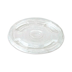World Centric® PLA Clear Cold Cup Lids