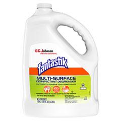 Fantastik® Multi-Surface Disinfectant Degreaser, Pleasant Scent, 1 Gallon Bottle