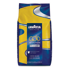 Lavazza Gold Selection Whole Bean Coffee, Light and Aromatic, 2.2 lb Bag