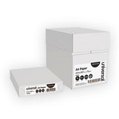 Universal® Copy Paper, 92 Bright, 20 lb, A4, White, 500 Sheets/Ream, 5 Reams/Carton