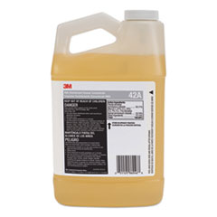 3M™ MBS Disinfectant Cleaner Concentrate, 0.5 gal Bottle, Unscented, 4/Carton