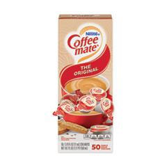 Coffee-mate® Liquid Coffee Creamer, Original, 0.38 oz Mini Cups, 50/Box