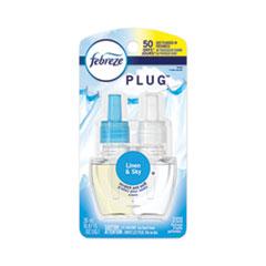 PLUG Air Freshener Refills, Linen and Sky, 0.87 oz