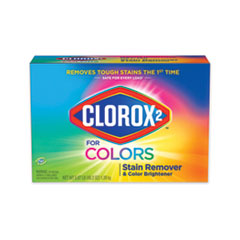 Clorox 2® Stain Remover and Color Booster Powder, Original, 49.2 oz Box, 4/Carton