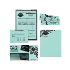 Astrobrights® Color Paper, 24 lb, 8.5 x 11, Merry Mint, 500/Ream