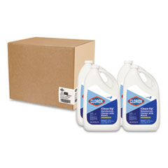 Clorox® Clean-Up Disinfectant Cleaner with Bleach, Fresh, 128 oz Refill Bottle, 4/Carton