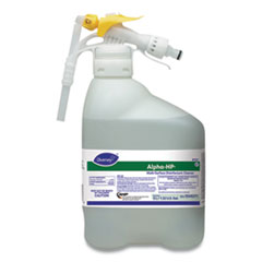 Diversey™ Alpha-HP Concentrated Multi-Surface Cleaner, Citrus Scent, 5,000 mL RTD Bottle
