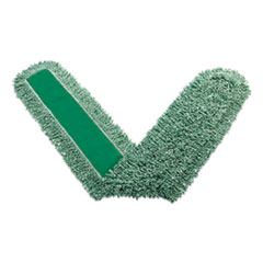 "Rubbermaid® Commercial Microfiber Dust Pads, 72"" Long, Green"