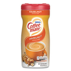 Coffee mate® Hazelnut Creamer Powder, 15oz Plastic Bottle