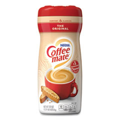 Coffee mate® Non-Dairy Powdered Creamer, Original, 22 oz Canister, 12/Carton