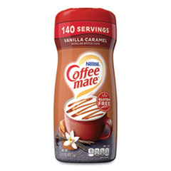 Coffee mate® Vanilla Carmel Powdered Creamer, 15 oz Canister, 6/Carton