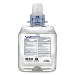 PURELL® Advanced E-3 Rated Foam Hand Sanitizer, 1200 mL Refill, 4/Carton