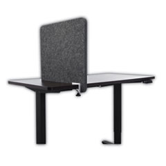 Lumeah Desk Divider Privacy Panel Sound Reducing Office Partition for Desk Cubical