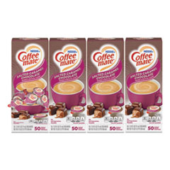 Coffee mate® Liquid Coffee Creamer, Italian Sweet Creme, 0.38 oz Mini Cups, 50/Box, 4 Boxes/Carton, 200 Total/Carton