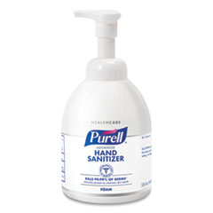 PURELL® Advanced Foaming Hand Sanitizer, 18 oz, Pump Bottle, 4/Carton