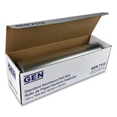 """GEN Standard Aluminum Foil Roll, 12"""" x 1,000 ft"""
