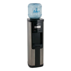 Avanti Hot and Cold Water Dispenser, 3-5 gal, 13 x 38.75, Stainless Steel
