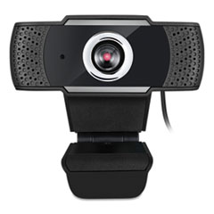 Adesso CyberTrack H4 1080P HD USB Manual Focus Webcam with Microphone