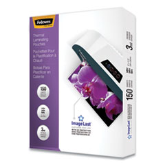 Fellowes® ImageLast™ Laminating Pouches with UV Protection