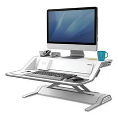 Fellowes® Lotus(TM) DX Sit-Stand Workstation