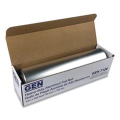 """GEN Heavy-Duty Aluminum Foil Roll, 12"""" x 500 ft"""