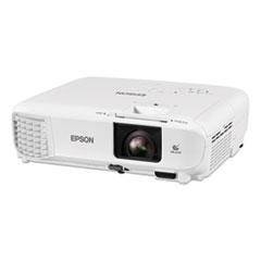 Epson® PowerLite 118 3LCD XGA Classroom Projector, 3,800 lm, 1024 x 768 Pixels, 1.2x Zoom