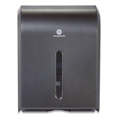 Georgia Pacific® Professional Dispenser for Combi-fold C-Fold/Multifold/BigFold Towels, 12.3 x 6 x 15.5, Black