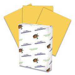 Hammermill® Colors Print Paper, 20lb, 8.5 x 11, Goldenrod, 500/Ream