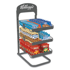 Kellogg's® Breakroom Solution Rack with Kellogg's Snack Products, 26.38l x 18.5w x 12.5h