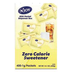 N'Joy Yellow Sucralose Zero Calorie Sweetener Packets