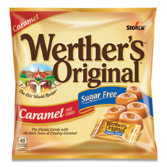 Werther's® Original® Hard Candies, Caramel, Individually Wrapped, 2.75 oz