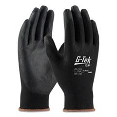 G-Tek® GP Polyurethane-Coated Nylon Gloves, X-Large, Black, 12 Pairs