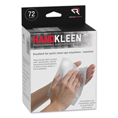 Read Right® HandKleen™ Premoistened Antibacterial Wipes