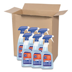 Spic and Span® Disinfecting All-Purpose Spray and Glass Cleaner, Fresh Scent, 32 oz Spray Bottle, 6/Carton