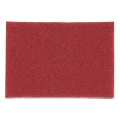 3M™ Buffer Floor Pads 5100, 20 x 14, Red, 10/Carton