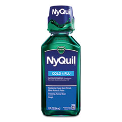 Vicks® NyQuil™ Cold & Flu Nighttime Liquid