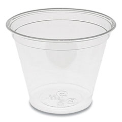 Pactiv EarthChoice Recycled Clear Plastic Cold Cups, 9 oz, 975/Carton
