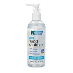 GEN ProSanitize Gel Hand Sanitizer, 8 oz Bottle, Unscented, 12/Carton