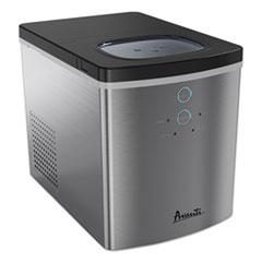 Avanti Portable/Countertop Ice Maker, 25 lb, Stainless Steel