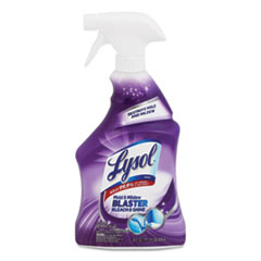 LYSOL® Brand Mold and Mildew Remover with Bleach, 28 oz Trigger Spray Bottle, 9/Carton