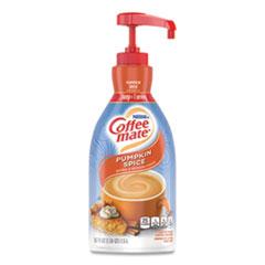 Coffee mate® Liquid Creamer Pump Bottle, Pumpkin Spice, 1.5L Pump Bottle