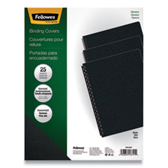 Fellowes® Futura™ Presentation Covers for Binding Systems