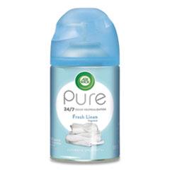 Freshmatic Ultra Spray Refill, Fresh Linen, Aerosol, 5.89 oz, 6/Carton