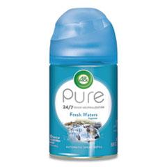 Air Wick® Freshmatic Ultra Automatic Spray Refill, Fresh Waters, Aerosol 5.89 oz, 6/Carton
