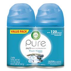 Air Wick® Freshmatic Ultra Spray Refill, Fresh Waters, 5.89 oz Aerosol Spray, 2/Pack 3 Packs/Carton