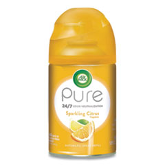 Air Wick® Freshmatic Ultra Automatic Pure Refill, Sparkling Citrus, 5.89 oz, 6/Carton