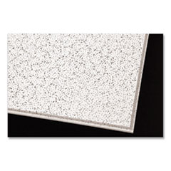 "Cortega Ceiling Tiles, Non-Directional, Angled Tegular (0.94""), 24"" x 24"" x 0.63"", White, 16/Carton"
