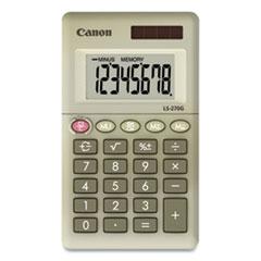 Canon® LS-270G Pocket Calculator, 8-Digit LCD