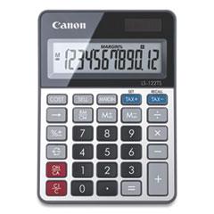 Canon® LS-122TS Desktop Calculator, 12-Digit LCD